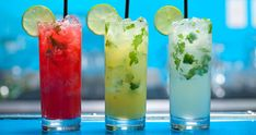 Yummy Mojitos @ Havana ~ Walnut Creek, CA... Awesome variations like the Brazilian with Cachaca; the Colada with Cream of Coconut; or the Mulato with Spiced Rum <3