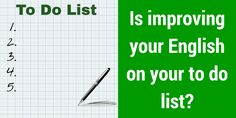 Is improving your English on you 'to do' list? Get some help. https://itunes.apple.com/us/artist/big-tick-productions-limited/id963006134… #IELTS #TOEFL #learnenglish