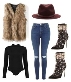 """""""Foxy mama"""" by tyra-breann on Polyvore featuring Manolo Blahnik and rag & bone"""