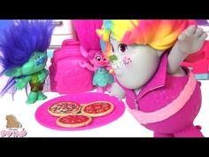 NEW!Детские игры и видео для детей про игрушки Тролли (мультики 2016): Салон красоты для девочек #ad - YouTube