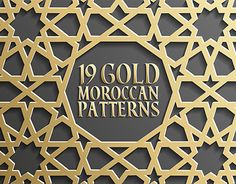 """Check out new work on my @Behance portfolio: """"Gold Islamic Seamless Pattern Set 1"""" http://be.net/gallery/37151985/Gold-Islamic-Seamless-Pattern-Set-1"""