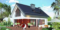 Proiect casa mica cu mansarda de 115 mp + fotografii cu interiorul | CasaPost.ro Home Fashion, Shed, Outdoor Structures, Mansions, House Styles, Interior, Outdoor Decor, Home Decor, Mansion Houses