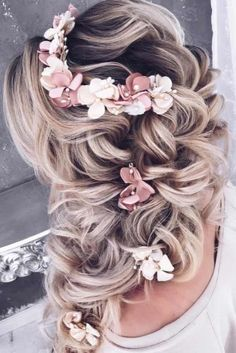 Top 21 Wedding Hairstyles For 2018 ★ See more: http://glaminati.com/wedding-hairstyles/