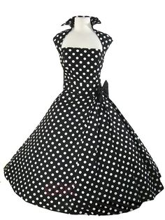 Ericdress Rockabilly Style A-Line Sleeveless Casual Dress 4
