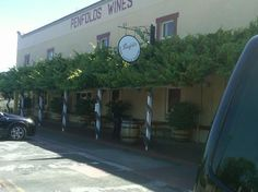 Penfolds Winery, Barossa Valley, South Australia  I have beautiful wine from here!