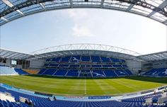 Brighton  Hove Albions new Amex Stadium in Falmer