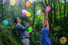 Pequenos detalhes pode dar um up super animado para o ensaio pré wedding! Fica a dica para os noivos! ♥