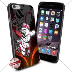 "MLB,Cincinnati Reds,iPhone 6 4.7"" & iPhone 6s Case Cover ...…"