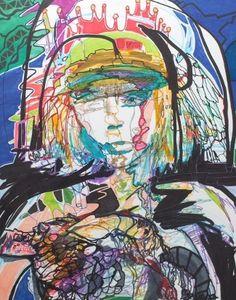 Buy Original Artwork at Artwork Only - Lisa by Jaquelyn Puma