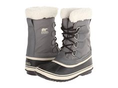 SOREL Winter Carnival™ Pewter/Black/Metal Crush/Nappa Wax - Zappos.com Free Shipping BOTH Ways