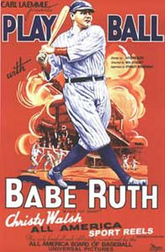 Vintage Style Baseball Sports Poster 1890s Baseball Art Print 16x20