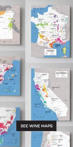 Regional Wine Maps
