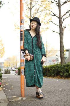 【STREET SNAP】緑川芙木子 | monde corporation | ストリートスナップ | 渋谷(東京) |