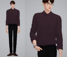 Lana CC Finds - by2ol:  Basic Shirts  DOWNLOAD  (Please click...