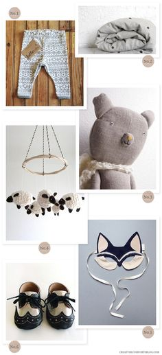 Love Creature Comforts kid-friendly Etsy finds.