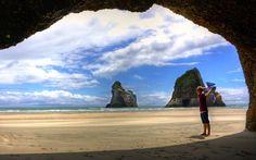 Wharariki Beach - Nouvelle-Zélande