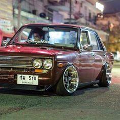 Lovely classic car - Everything About Cars Datsun 1600, Datsun Car, Datsun Bluebird 510, Jdm, Nissan Trucks, Old School Cars, Import Cars, Toyota Cars, Japanese Cars