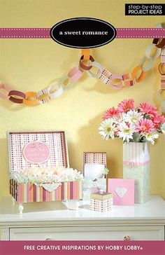 With danty polka-dots, candy-colored stripes, and delicate blooms, these blissful projects will remind you of laughter, love, and the happy moments of life.