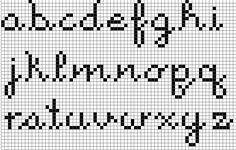 cross stitch alphabet - Cerca con Google