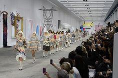 Le défilé Chanel printemps-été 2014