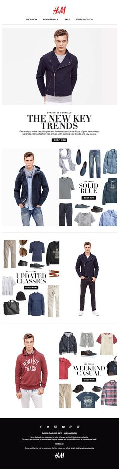 H&M : Outfitting Trend + On Body / PDP Combo