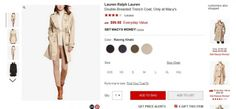 Распродажа женских плащей и курток на Macy's   Подробнее о магазине Macy's: http://okidoki.com.ua/katalog-magazinov/odegda-obuv/87-macys #macys