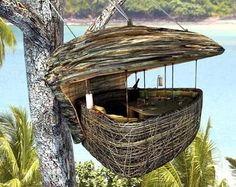 the ultimate adult tree fort!