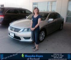 #HappyBirthday to Stacy from Jim Rutelonis at Honda Cars of Rockwall!  https://deliverymaxx.com/DealerReviews.aspx?DealerCode=VSDF  #HappyBirthday #HondaCarsofRockwall