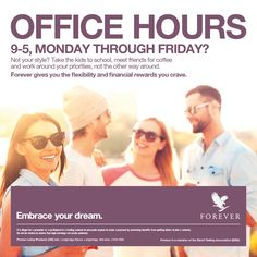 Embrace your free time by #workingfromhome. Is 9-5 not really your thing? Change your life.🏡