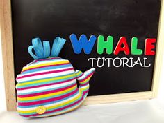 Morning by Morning Productions: Whale Softie Sewing Tutorial