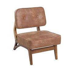 Poltrona Básica - Poltrona com estrutura em madeira imbuia. Possibilidade de revestimento em couro ecológico, couro natural e tecidos.