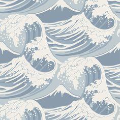 Buy Cole & Son Great Wave Wallpaper, 89/2007 | John Lewis