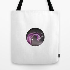 Back to Black. Back to #000000 Tote Bag by Dotiee - $22.00