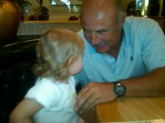At bev glen deli having lunch with pops and grandma.