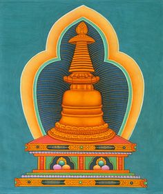 La Estupa representa la mente de un Buda