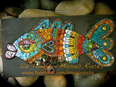 cool mosaic fish