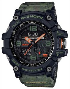 Shop men's and women's digital watches from G-SHOCK. G-SHOCK blends bold style with the most durable digital and analog-digital watches in the industry. New G Shock, G Shock Mudmaster, G Shock Men, Casio G-shock, Casio Watch, Casio G Shock Watches, Sport Watches, Watches For Men, Rugged Watches