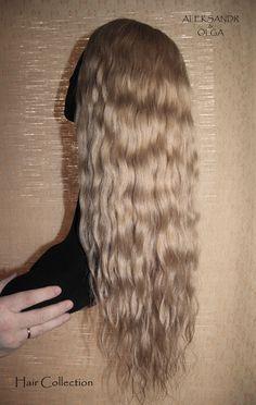 ПОЛУПАРИК combo (с имитацией кожи головы) - постиж, бежевый блонд (из натуральных волос) www.aleksandr-and-olga.ru www.livemaster.ru/hair-collection Long Hair Styles, Beauty, Collection, Long Hair Hairdos, Long Haircuts, Long Hair Cuts, Long Hairstyles, Long Hairstyle, Long Length Hairstyles