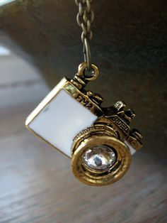 Vintage Camera Necklace - $20.99