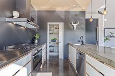 Shiplap Cladding, White Subway Tiles, Home Reno, Modern Farmhouse, House Plans, Home And Family, New Homes, Flooring, Kitchen Inspiration