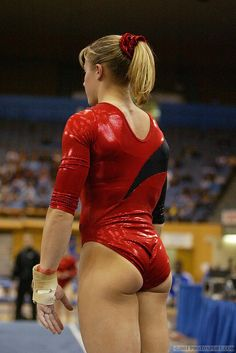 Gymnast tight ass and pussy