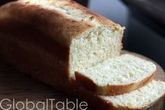 """Coconut Bimini Bread, fresh from the oven Makes 2 small loaves or 1 large """"Pullman"""" style loaf Coconut Bimini Bread is easy with the help of a bread machine or standing mixer fitted with dough blad..."""