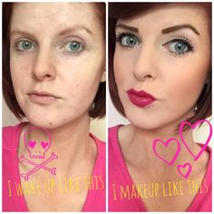 Gemma's before and after! Gorgeous! Get your Younique here  https://www.youniqueproducts.com/calliejunker