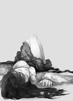 """Résultat de recherche d'images pour """"manga girl and boy death"""""""