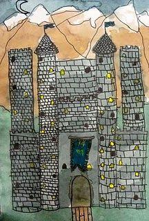 Castle art lesson