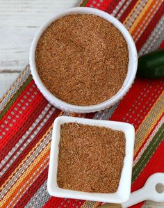 Cajun Seasonings - A spicy homemade Cajun seasoning made with paprika, cayenne pepper and other herbs and spices. Perfect on shrimp, chicken or adding onto anything that you want a little New Orleans flair and a kick of heat.