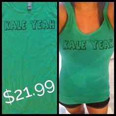 Kale yeah - Women's Tank Top- Bright Green