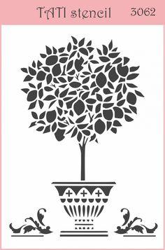 Трафарет гибкий TATI stencil 3062. цена: 29.00 грн. А6, 15 х 10 см. Трафареты TATI stencil Hobby & Decor - товары для рукоделия