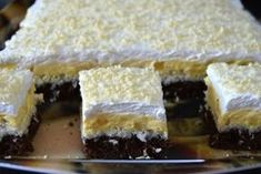 Receptek, és hasznos cikkek oldala: Kókuszcsókos, vaníliakrémes csoda!