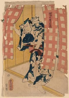 Toyokuni. I love the sea life artwork all over this guy. From the Library of Congress' collection of Japanese prints. If you click through to the L.O.C., you can download a huge TIFF.